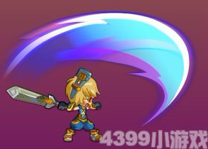 龙斗士狂战士剑刃乱舞
