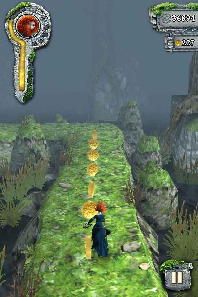 《TEMPLE RUN:勇敢传说》路径1