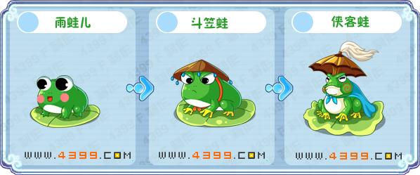 卡不西游雨蛙儿练级 侠客蛙刷什么
