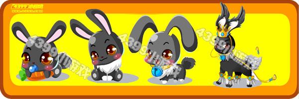 奥比岛小灰兔-王子兔变异进化图鉴及获得方法