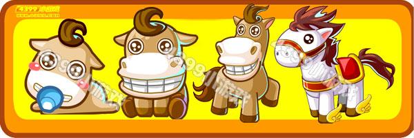奥比岛小马驹-骑士白马变异进化图鉴及获得方法
