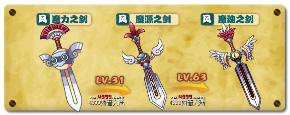 西普大陆魔力之剑技能表