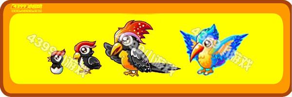 奥比岛啄木鸟-啄木偶鸟变异进化图鉴及获得方法