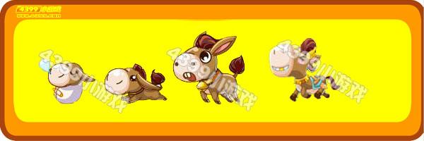 奥比岛小呆驴-天然呆驴变异进化图鉴及获得方法