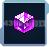 七级紫色晶体