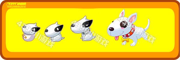 奥比岛黑白花狗-努比犬变异进化图鉴及获得方法