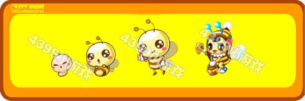 奥比岛小蜜蜂-甜心小蜜蜂变异进化图鉴及获得方法