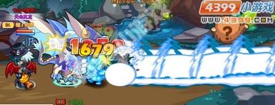 龙斗士圣焰帝王技能展示