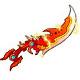 龙斗士龙之雷霆橙色武器