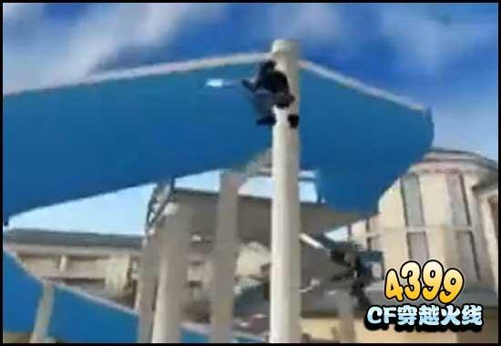 cf生化酒店卡柱子 CF生化酒店BUG 生化酒店BUG教程
