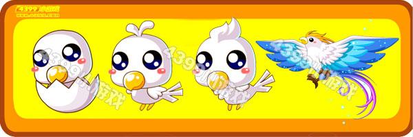 奥比岛蛋蛋鸟-极光飞鸟变异进化图鉴及获得方法
