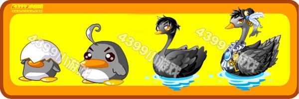 奥比岛小墨鸭-玄墨天鹅变异进化图鉴及获得方法