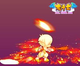 龙斗士圣贤魔者超・烈焰火海