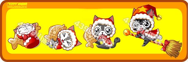 奥比岛圣诞贪吃猫-圣诞小飞猫变异进化图鉴及获得方法