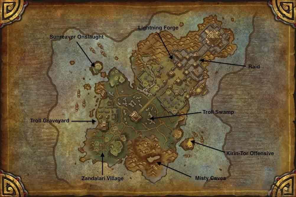 魔兽世界雷神岛在哪 雷神岛上有什么?