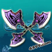 国王的勇士4紫电斧翼时装