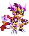 龙斗士紫晶守护使者