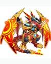 龙斗士超龙王雷恩技能表 超龙王雷恩属性图
