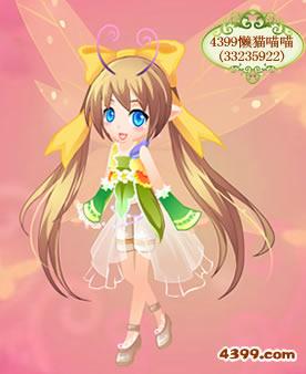 小花仙 小花仙花瓣秀 >正文  时尚女孩-4399恋雪♧公主 可爱甜甜