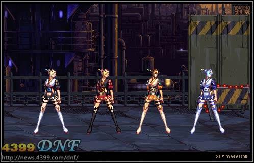 dnf韩服的转职时装 暂时公开其中的4只