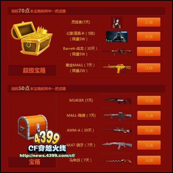 cf幻影道具卡怎么用_cf黄金登场火力全开活动 游戏时长90分钟送幻影道具卡