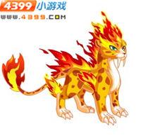 龙斗士烈焰豹王