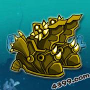 国王的勇士4金身龙鱼鞋