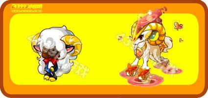 奥比岛小白羊-白羊神宠变异进化图鉴及获得方法