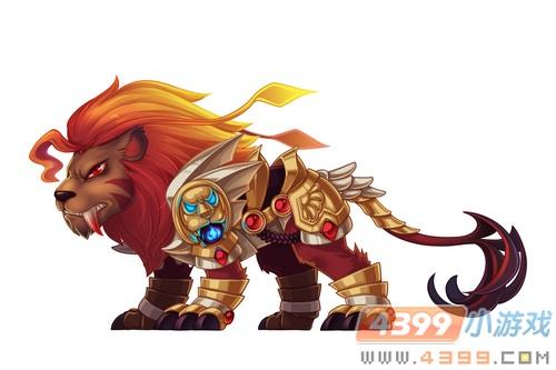 卡布魔境神武狮王宠物蛋