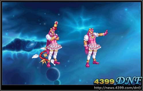 韩服dnf天空套8 女鬼剑撩人首套时装揭开神秘面纱