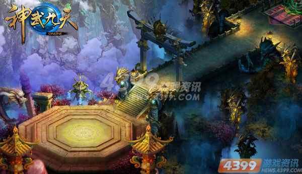 极具中国浓郁色彩却又不失华丽的宫殿建筑令人如有穿越古代的幻觉.图片