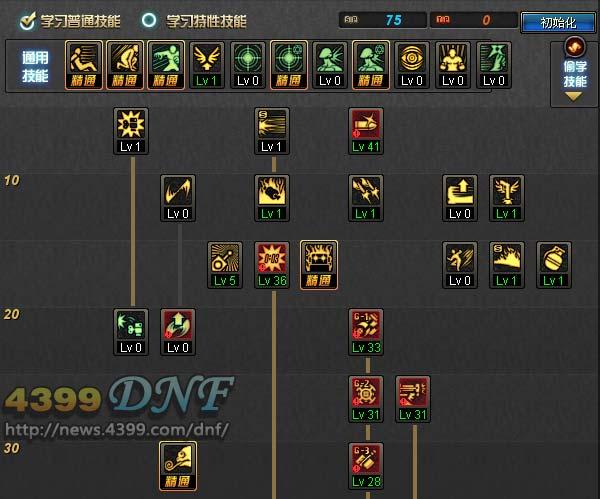 dnf机械nb刷图加点_DNF女机械85刷图加点_4399DNF