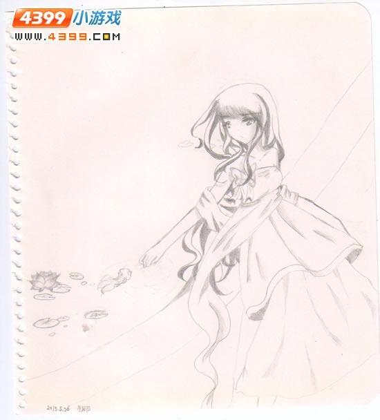 小花仙绘画第52期 4399温瞳