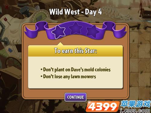 植物大战僵尸2狂野西部4攻略