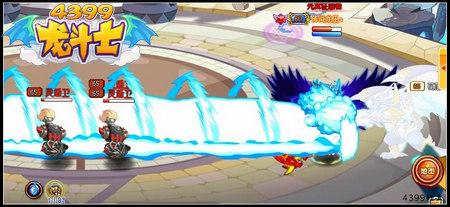 龙斗士圣龙王苍焰技能解析