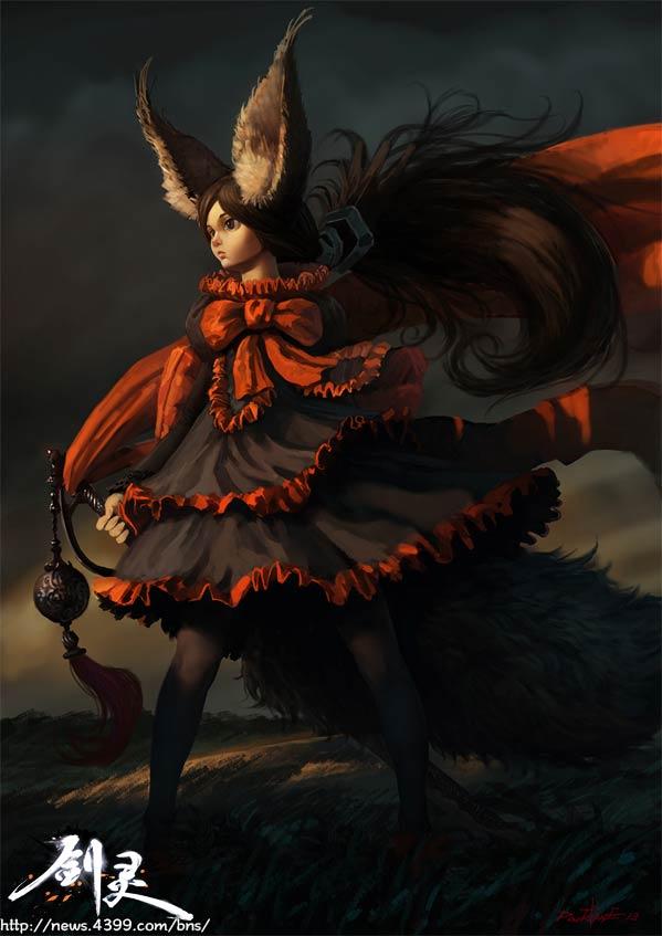剑灵灵剑士原画 我的洛丽塔