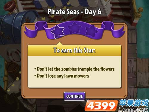 植物大战僵尸2海盗湾6怎么过
