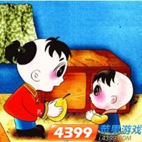 疯狂猜成语小孩跑_疯狂猜成语两个小孩手里拿着一个梨是什么成语_4399疯狂猜成语