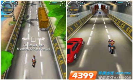 竞速游戏3D摩托 登陆安卓平台