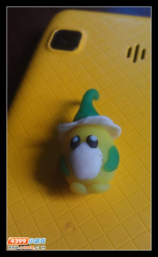 赛尔号橡皮泥塑像 赛尔号索拉 米咔 小豆芽  赛尔号玩家投稿  图片