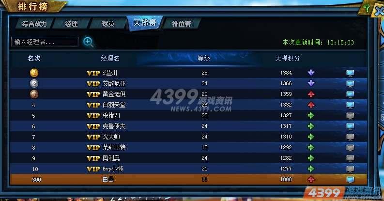 4399排行榜_排行榜