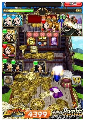 《金币传奇》是一款街机老虎机玩法和卡牌战斗相结合的游戏,在国内并