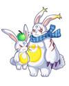 龙斗士超萌硕兔