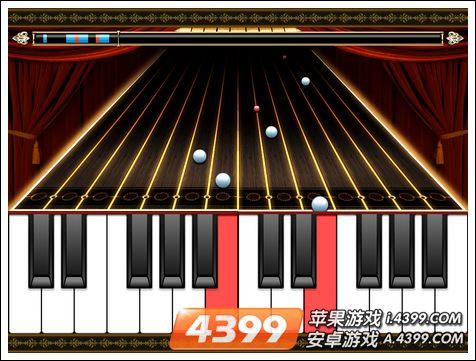 4399手机游戏网 掌上钢琴 游戏评测 正文  进入游戏中,玩家可以选择