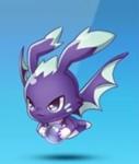 天天酷跑紫翼幼龙
