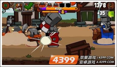 粉碎敌人游戏画面