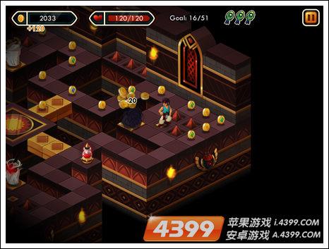 4399手机游戏网 宝塔跑酷 攻略心得 > 正文   1,场景中的金币,场景中