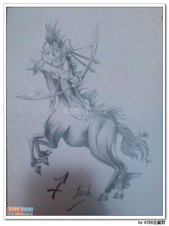 卡布手绘—射手星神