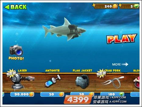 嗜血狂鲨进化金币