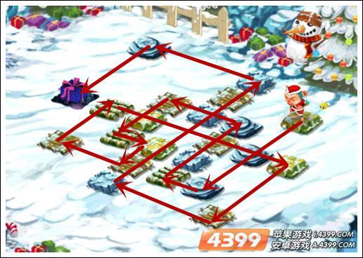 ASVA猴子圣诞节关卡7